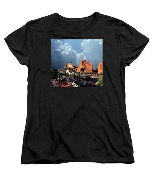Garden Of The Gods Beauty Women's T-Shirt (Standard Cut) by John Hoffman