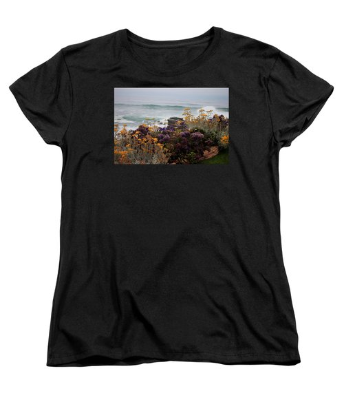 Women's T-Shirt (Standard Cut) featuring the photograph Garden View by Ivete Basso Photography