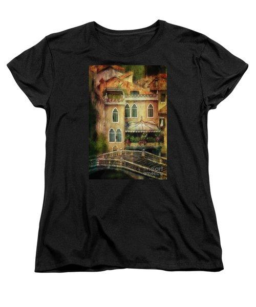 Gardening Venice Style Women's T-Shirt (Standard Cut) by Lois Bryan
