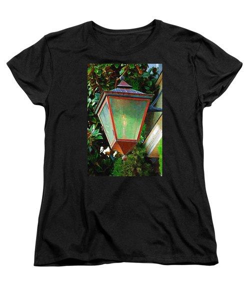 Gas Lantern Women's T-Shirt (Standard Cut) by Donna Bentley