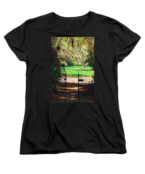 Women's T-Shirt (Standard Cut) featuring the photograph Gate To Heaven by Donna Bentley