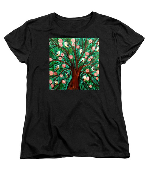 Gathering The Family Women's T-Shirt (Standard Cut) by Lisa Aerts