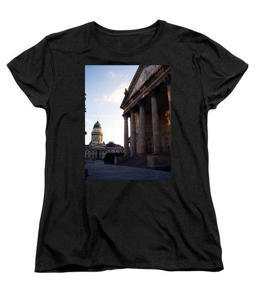 Gendarmenmarkt Women's T-Shirt (Standard Cut) by Flavia Westerwelle