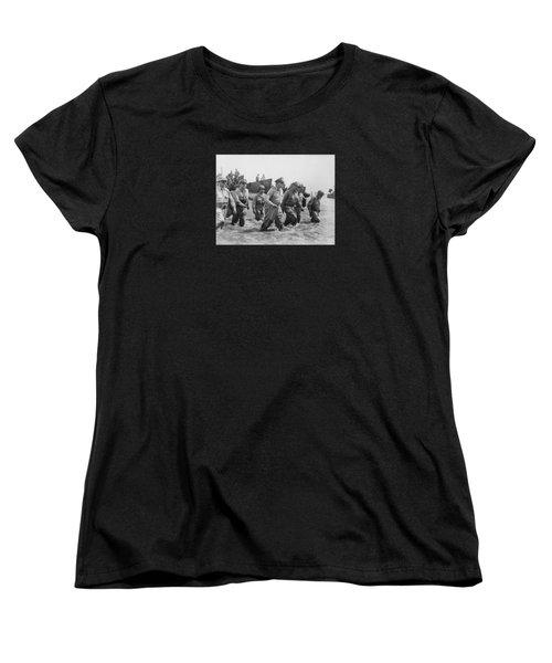 General Douglas Macarthur Returns Women's T-Shirt (Standard Cut) by War Is Hell Store