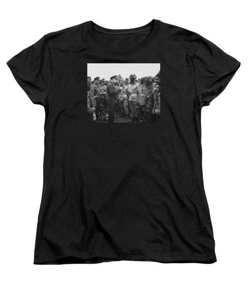 General Eisenhower On D-day  Women's T-Shirt (Standard Fit)