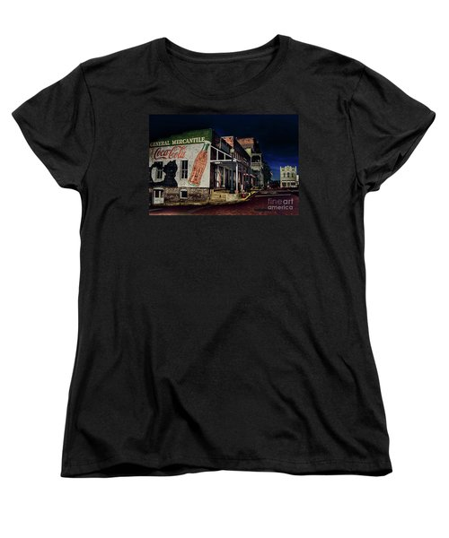 General Mercantile Women's T-Shirt (Standard Cut) by Savannah Gibbs