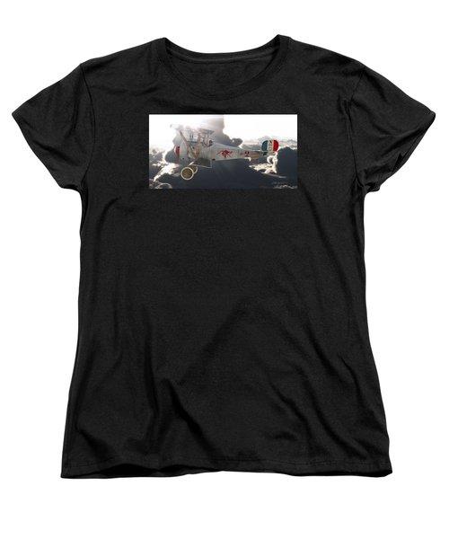 Georges Guynemer Nieuport 17 Women's T-Shirt (Standard Cut) by David Collins