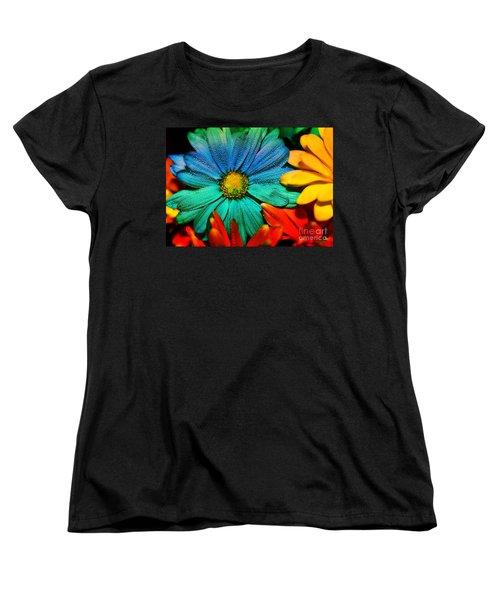 Gerbera Daisy Women's T-Shirt (Standard Cut) by Tina LeCour