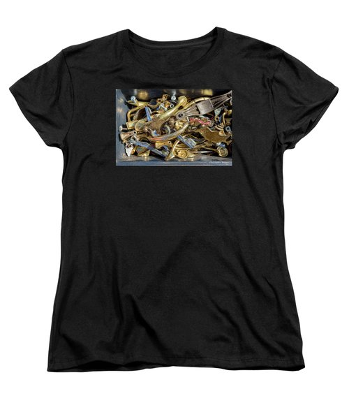 Women's T-Shirt (Standard Cut) featuring the photograph Get A Handle On It by Christopher Holmes