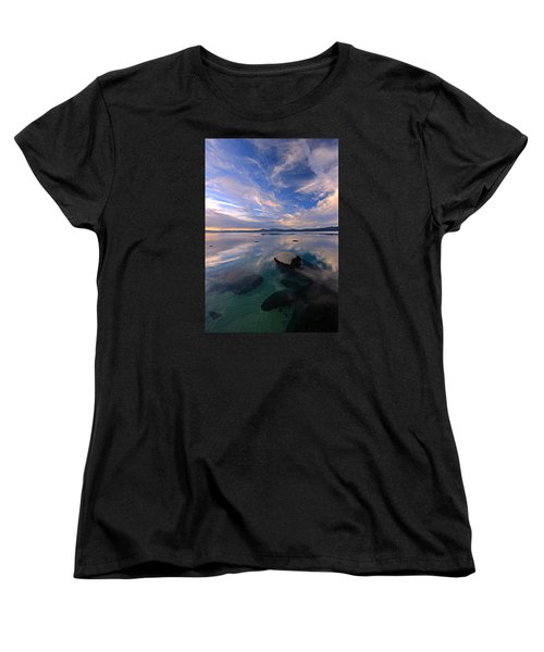 Get Into Nature Women's T-Shirt (Standard Cut) by Sean Sarsfield