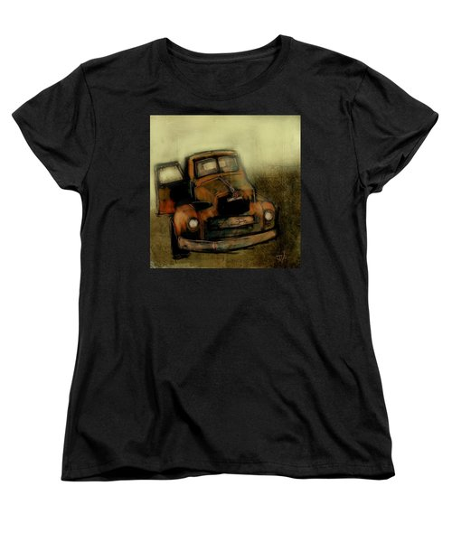 Getaway Truck Women's T-Shirt (Standard Cut) by Jim Vance