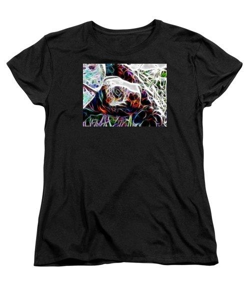 Getting Out Of My Shell Women's T-Shirt (Standard Cut) by Douglas Barnard