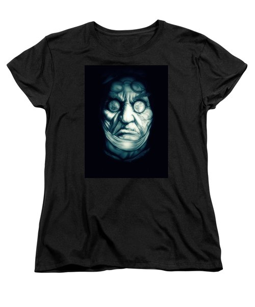 Ghost Marley Women's T-Shirt (Standard Cut) by Fred Larucci