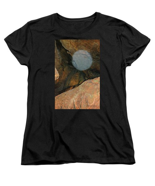 Ghostly Presence Women's T-Shirt (Standard Cut) by DigiArt Diaries by Vicky B Fuller