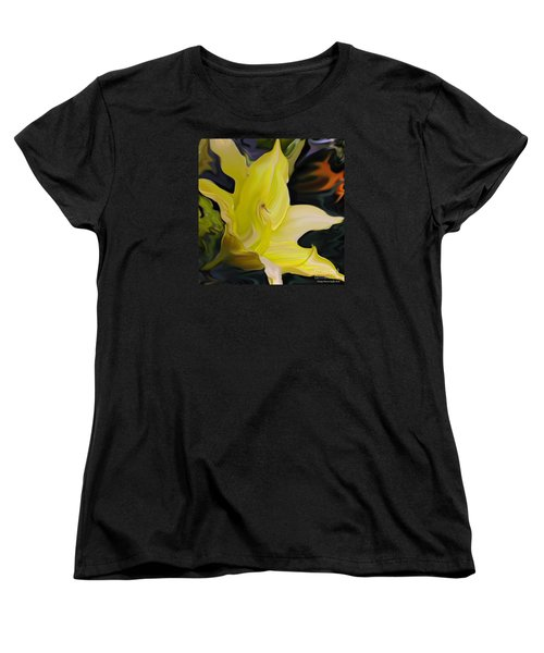 Women's T-Shirt (Standard Cut) featuring the painting Glory II by Patricia Griffin Brett