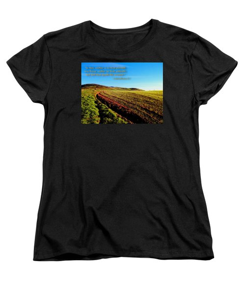 Women's T-Shirt (Standard Cut) featuring the photograph God Gives The Increase by Glenn McCarthy