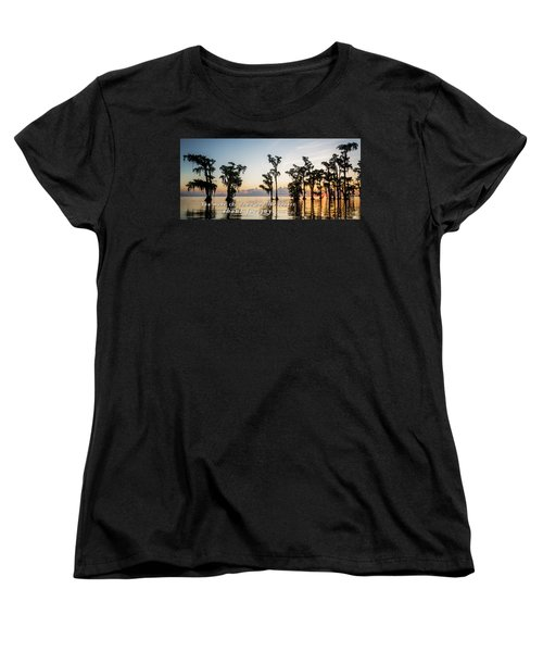 Women's T-Shirt (Standard Cut) featuring the photograph God's Artwork by Andy Crawford