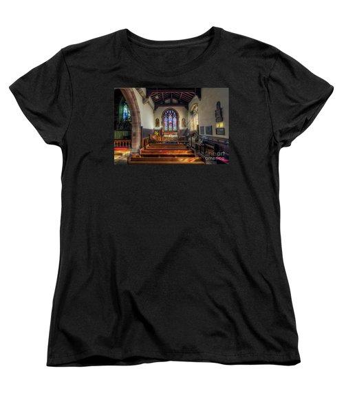 Women's T-Shirt (Standard Cut) featuring the photograph Gods Light by Ian Mitchell