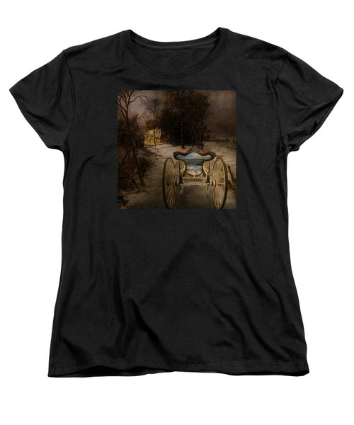 Going Home Women's T-Shirt (Standard Cut) by Jeff Burgess