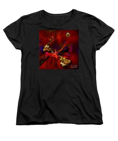 Gold Foundry Women's T-Shirt (Standard Cut) by Alexa Szlavics