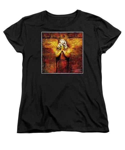 Golden Angel Women's T-Shirt (Standard Cut)