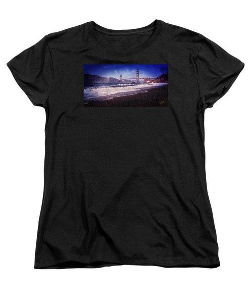 Golden Gate Women's T-Shirt (Standard Cut) by Everet Regal