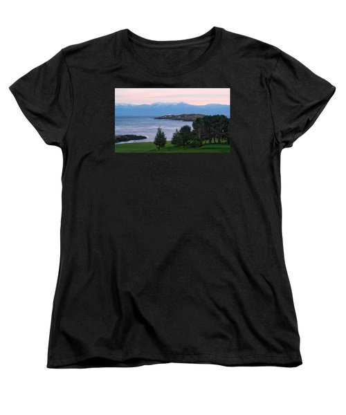 Trial Island Sunset Women's T-Shirt (Standard Cut) by Keith Boone