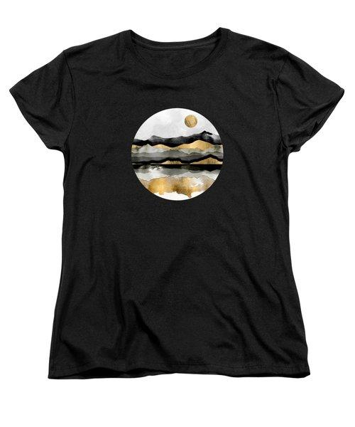 Golden Spring Moon Women's T-Shirt (Standard Fit)