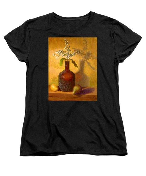 Golden Still Life Women's T-Shirt (Standard Cut) by Joe Bergholm