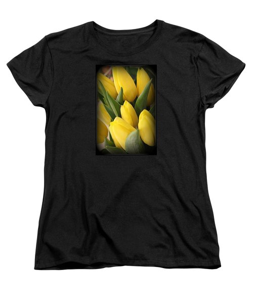 Golden Tulips Women's T-Shirt (Standard Cut)