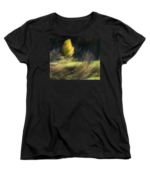 Women's T-Shirt (Standard Cut) featuring the photograph Gone With The Wind by Raffaella Lunelli