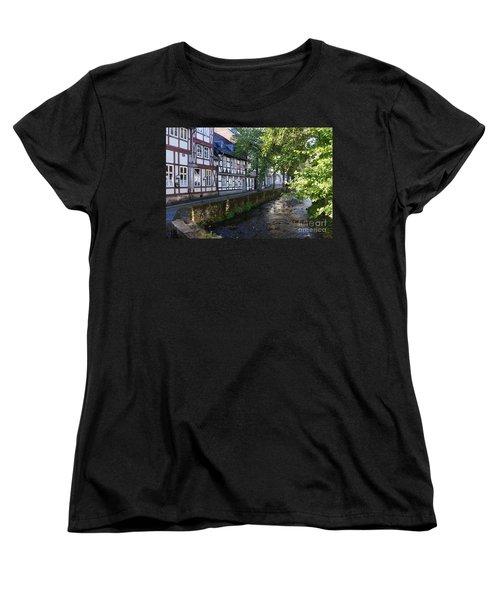Goslar Old Town 8 Women's T-Shirt (Standard Cut) by Rudi Prott