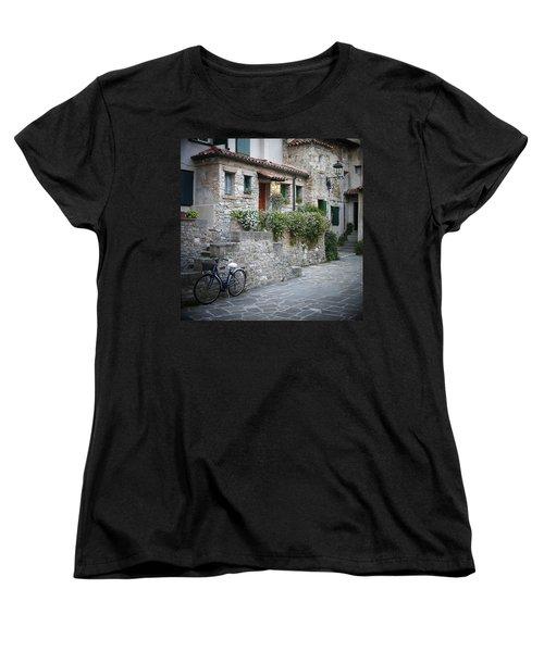 Grado Antica Women's T-Shirt (Standard Cut) by Evelyn Tambour