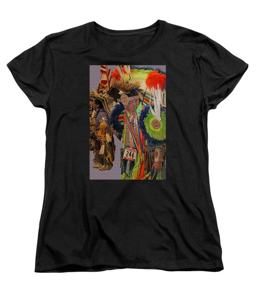 Grand Entry-3 Women's T-Shirt (Standard Cut) by Audrey Robillard