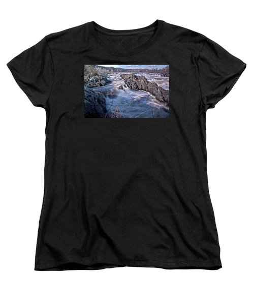 Great Falls Virginia Women's T-Shirt (Standard Cut) by Suzanne Stout