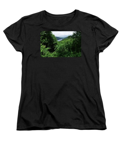 Women's T-Shirt (Standard Cut) featuring the photograph Great Smoky Mountains by Cathy Harper