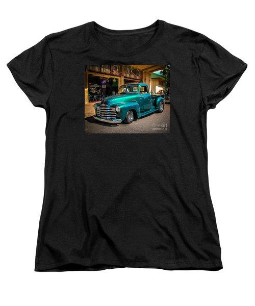 Green Dreams Women's T-Shirt (Standard Cut) by Perry Webster