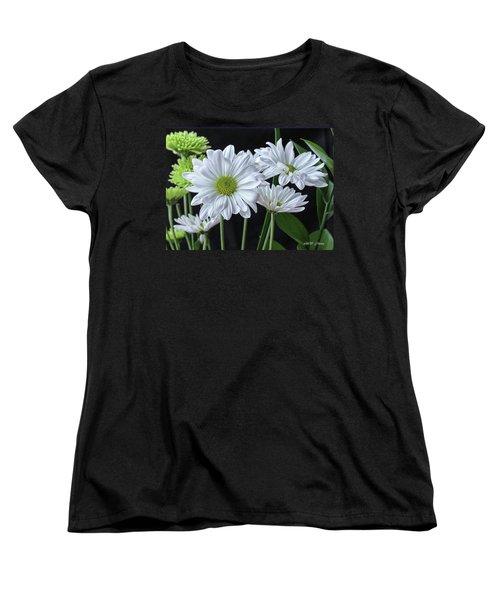 Women's T-Shirt (Standard Cut) featuring the photograph Green Eyed Daisy by Bonnie Willis