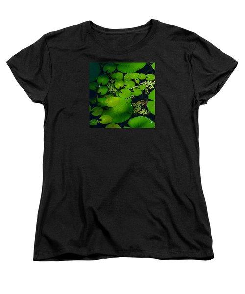 Green Islands Women's T-Shirt (Standard Cut) by Evelyn Tambour