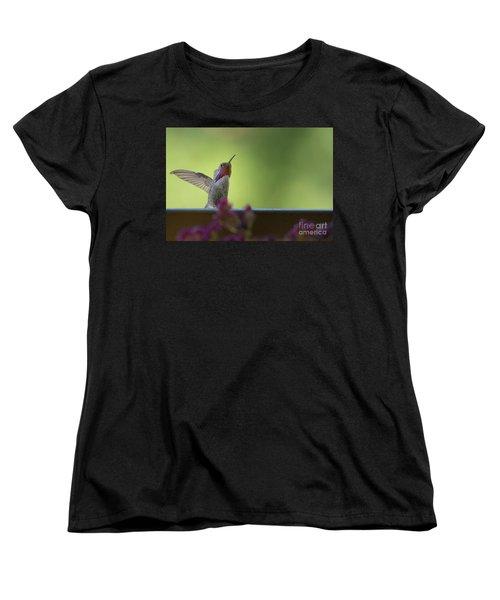 Guarding The Turf Women's T-Shirt (Standard Cut) by Anne Rodkin