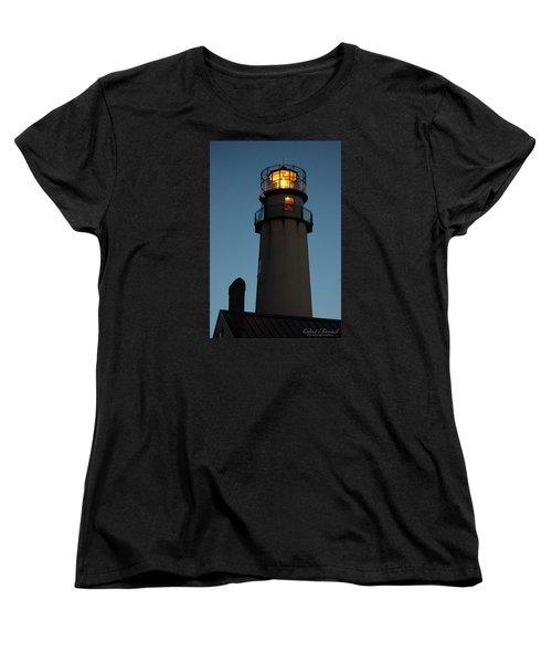 Women's T-Shirt (Standard Cut) featuring the photograph Guiding Mariners by Robert Banach