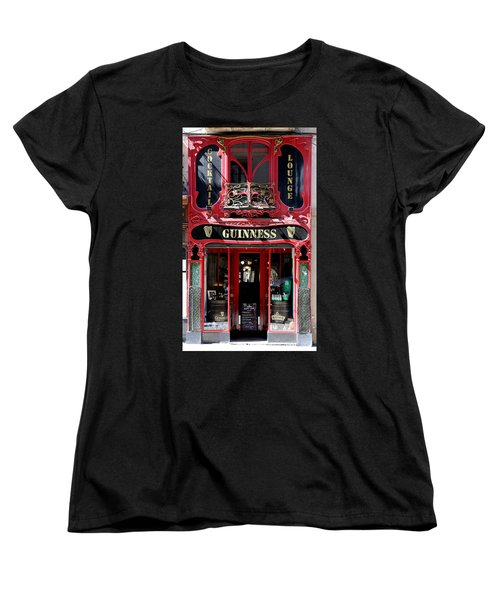 Women's T-Shirt (Standard Cut) featuring the photograph Guinness Beer 5 by Andrew Fare