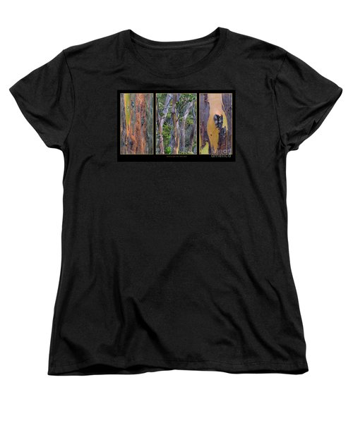 Gum Trees At Lake St Clair Women's T-Shirt (Standard Cut) by Werner Padarin