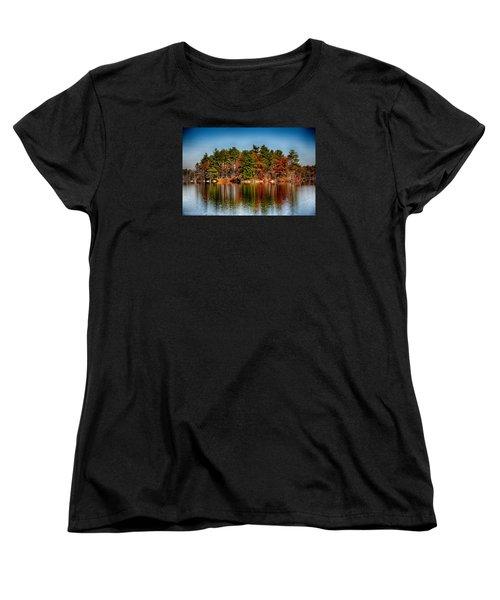 Haggetts Reflections Women's T-Shirt (Standard Cut) by Tricia Marchlik