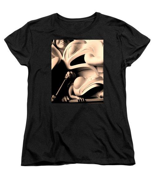 Haida Two Women's T-Shirt (Standard Cut) by Ian  MacDonald