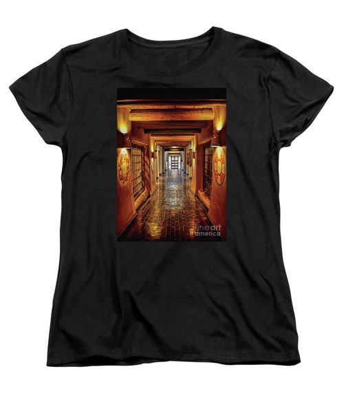 Women's T-Shirt (Standard Cut) featuring the photograph Halls Of Loretto by Gina Savage