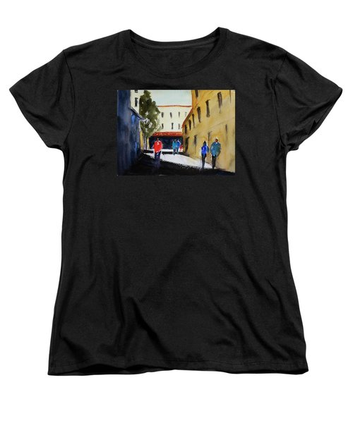 Hang Ah Alley2 Women's T-Shirt (Standard Cut) by Tom Simmons