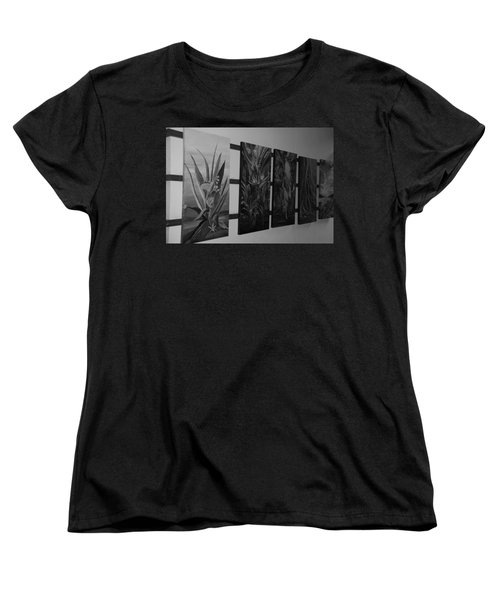 Women's T-Shirt (Standard Cut) featuring the photograph Hanging Art by Rob Hans