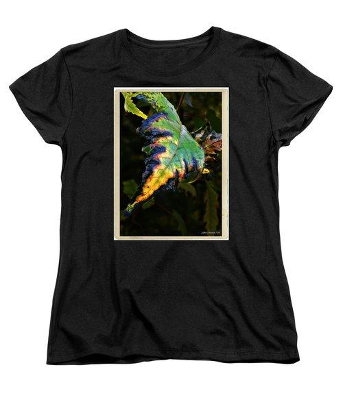 Women's T-Shirt (Standard Cut) featuring the photograph Hanging Out by Joan  Minchak
