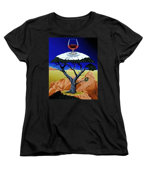 Happy Hour At The Midreal Cypress Women's T-Shirt (Standard Cut)